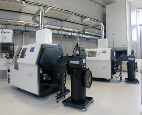 Parco macchine CNC